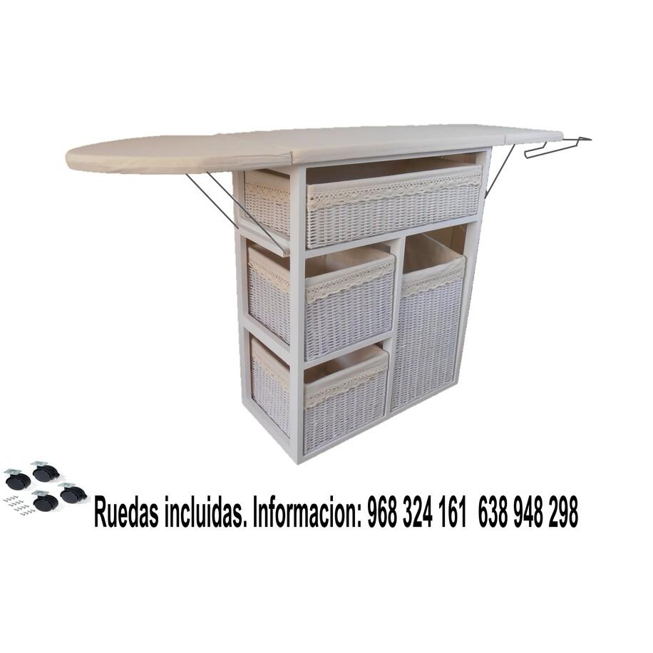 Mueble de Plancha Lisboa blanco