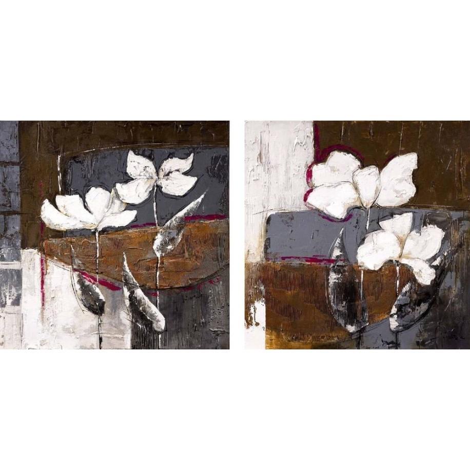 Pack 2 cuadros Floral